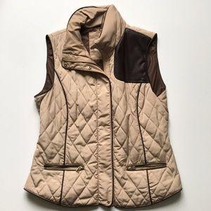 Zara quilted vest